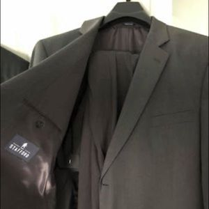 Stafford Gray Travel Suit and Pants